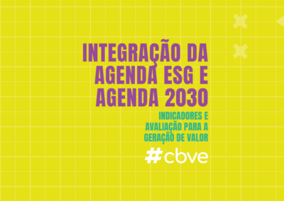 Integração da Agenda ESG e Agenda 2030: indicadores e avaliação para a geração de valor