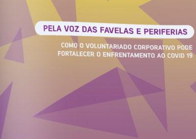 Como fomentar o voluntariado corporativo em favelas e periferias no cenário pós pandêmico